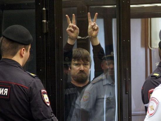 Соратник Удальцова Леонид Развозжаев вышел на свободу