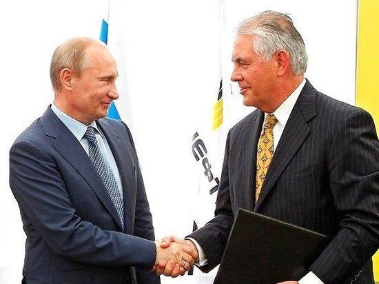 Путин все же встретится с госсекретарем США Тиллерсоном