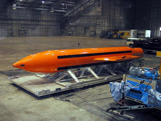 США сбросили на боевиков ИГ в Афганистане мощнейшую неядерную бомбу