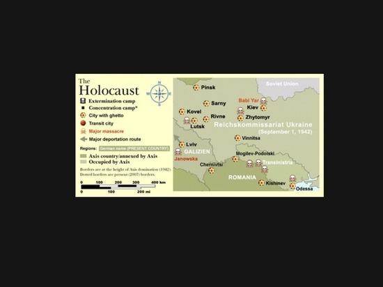 Британская газета опубликовала статью о том, как бандеровцы убивали евреев 18+
