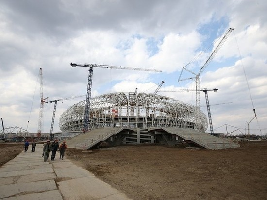 Виталий Мутко посетил стройплощадку стадиона «Мордовия Арена»