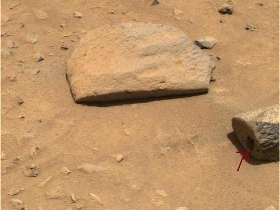 Уфолог нашел на Марсе домик крохотных пришельцев