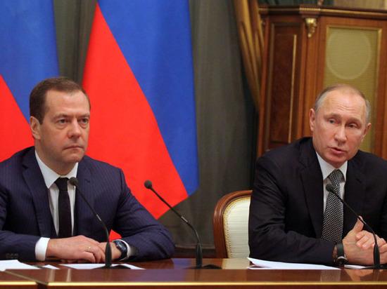 Президент заработал на 33 тыс рублей меньше, а премьер на 181 тыс