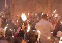 Бог простил археологов: Благодатный огонь сошел в Храме Гроба Господня