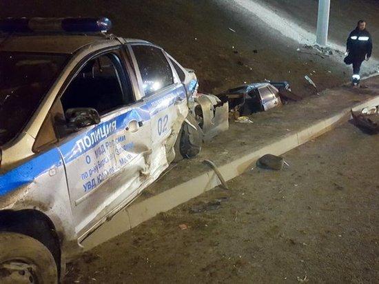 В Москве полицейские устроили погоню, в ходе которой погиб человек