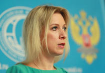 Официальный представитель МИД РФ Мария Захарова осудила ракетный удар США по авиабазе в Сирии, назвав его неприемлемым