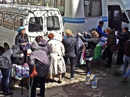 Крым заполонили торговцы из Средней Азии