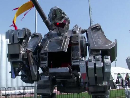 Планируется, что он будет участвовать в битвах роботов