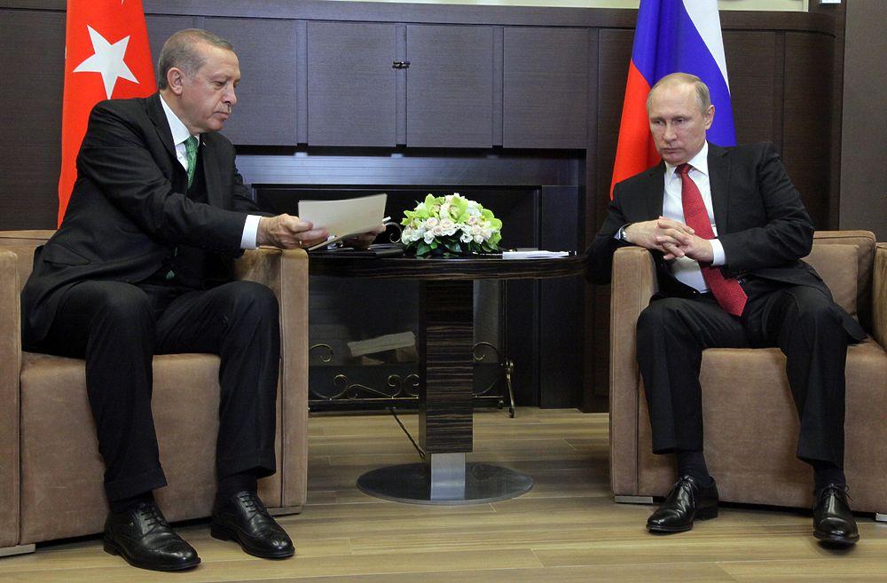 """Эрдоган приехал к Путину в Сочи """"выяснить отношения"""""""