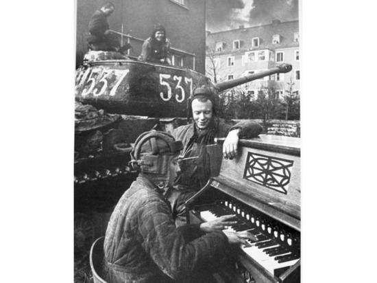 Анатолий Егоров забрал его на память о Победе