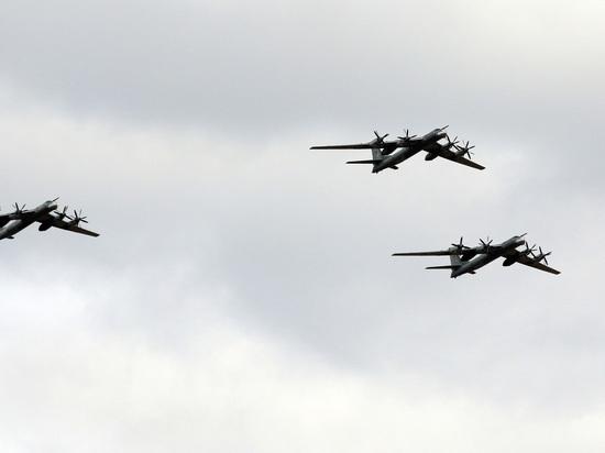 Стратегические бомбардировщики и истребители оказались в 80 километрах от границы США на Аляске