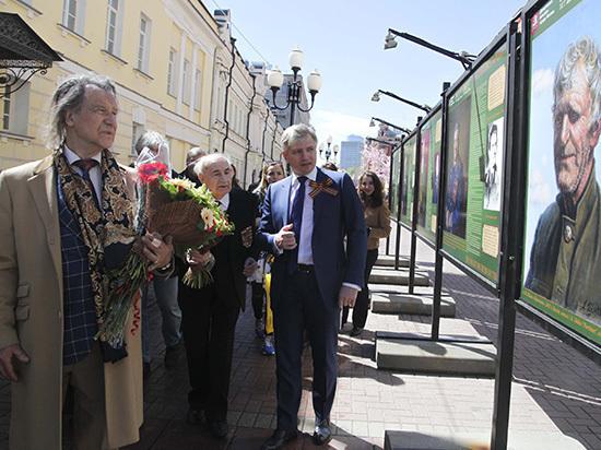 На Арбате открылась выставка «Они сражались за Родину!»
