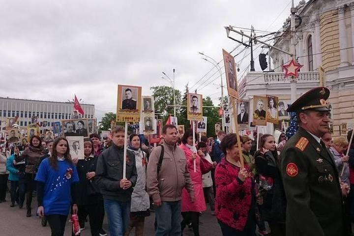 фото дня победы в тамбове михайлович внедрился