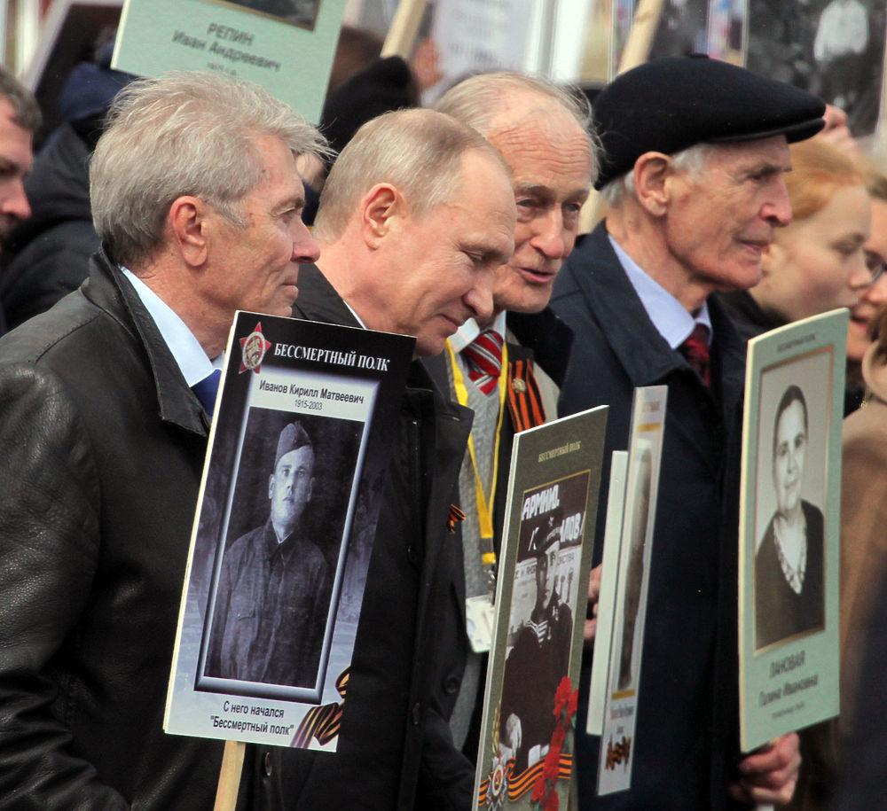 """Рекордное шествие: московский """"Бессмертный полк"""" собрал более 800 тысяч человек"""