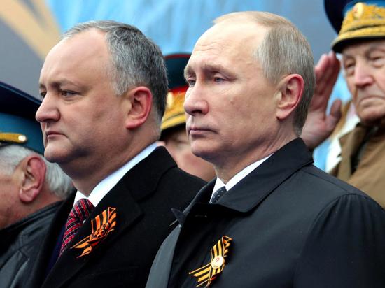 Он стал единственным лидером иностранного государства приехавшим в Москву
