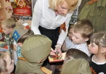 Накануне 9 мая в детском садике «Вырастайка», что на улице Химиков, звучали песни военных лет и стихи о победе