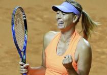Шарапова в двух сетах победила Макхэйл на турнире в Риме