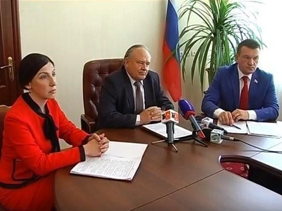 В Курском областном суде состоялась пресс-конференция