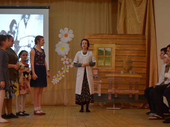 Школьникам в Серпухове показали спектакль о Великой Отечественной