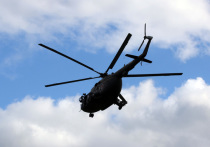 В соцсетях появилось видеозапись удара российских боевых вертолетов по боевикам возле сирийско-иорданской границы