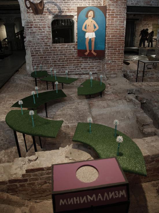 Выставка проходит на необычной площадке