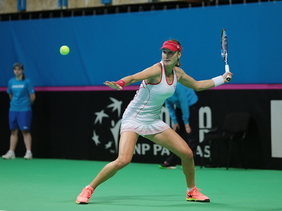 Российская теннисистка выбила немку Ангелик Кербер на старте парижских соревнований