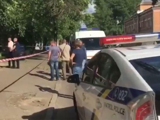 В центре Киева расстреляли подозреваемого в покушении на Путина