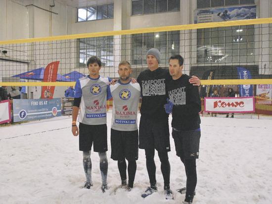 Волейбол на снегу: испытано в России