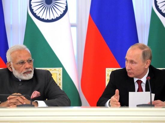 Переговоры президента РФ и главы индийского правительства прошли по-семейному
