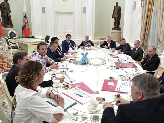 Президент пообещал поддержку отечественным мультипликаторам