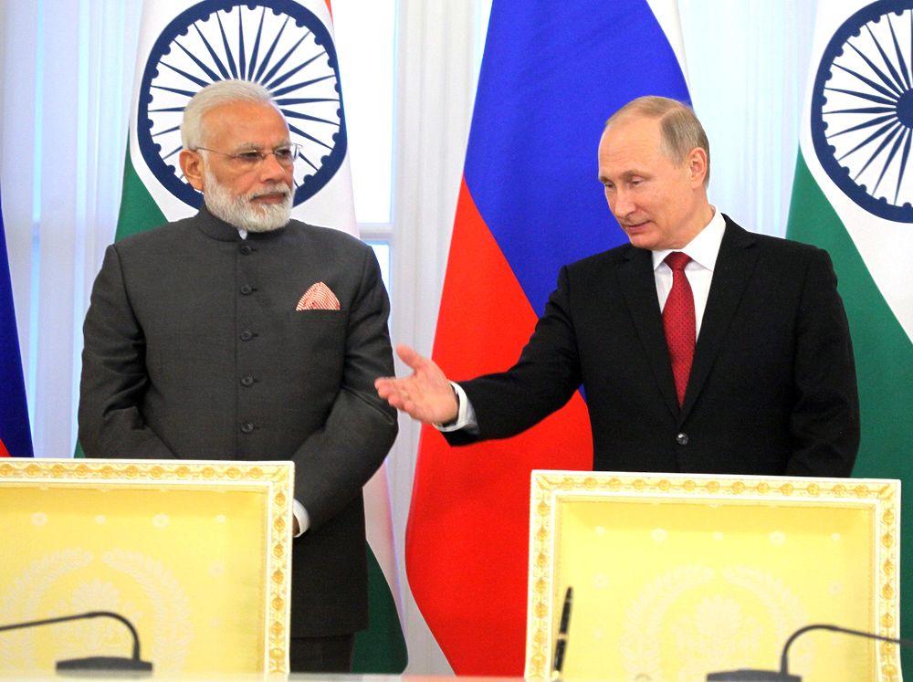 Путин и премьер Индии провели содержательные переговоры, но не договорили