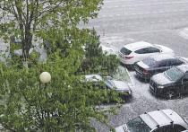 Синоптики назвали причину июньского снега в Москве