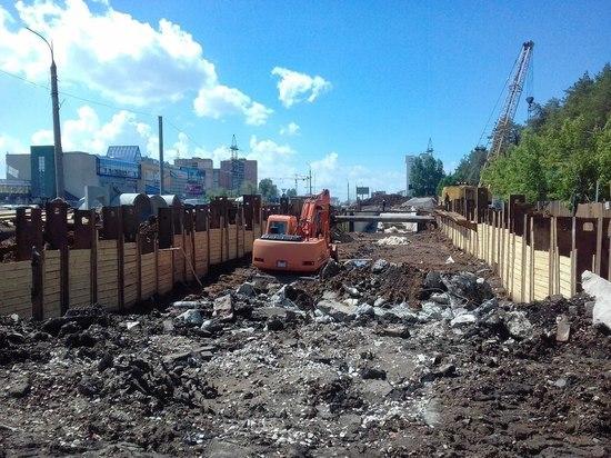 Путепровод на  улице Дальней готов лишь на 30%