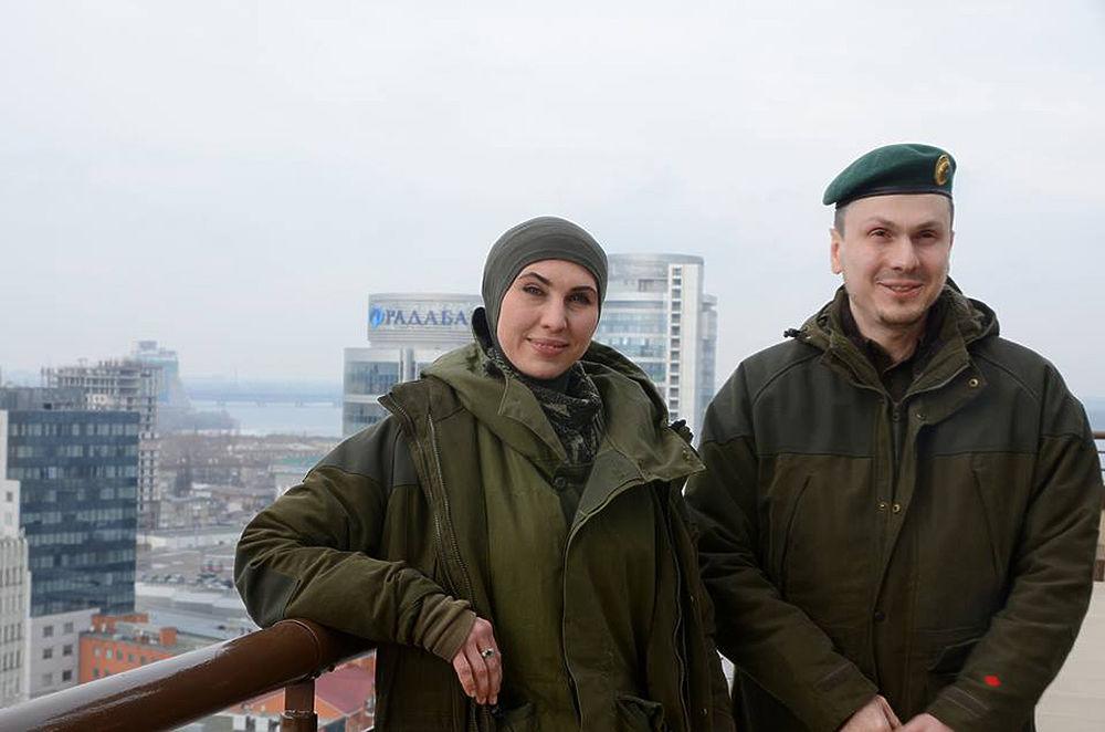 Адам Осмаев и Амина Окуева: предыстория покушения в фотографиях
