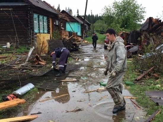 Свердловская область пережила самое мощное природное ненастье за последние несколько лет