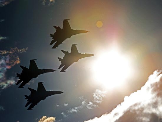 Россия подняла истребители для перехвата стратегических бомбардировщиков США