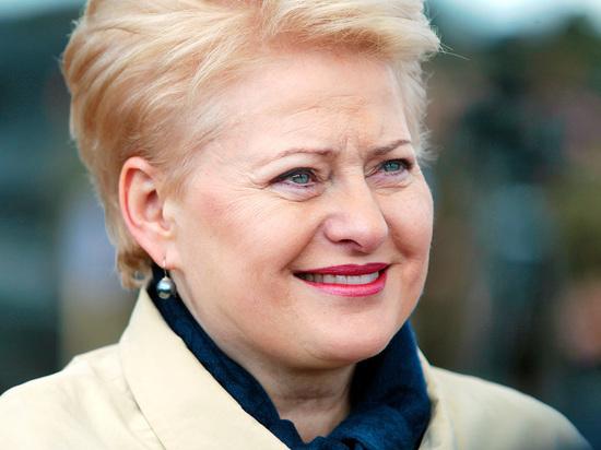 Грибаускайте заявила, что существование России и Белоруссии несет угрозу Прибалтике и Польше