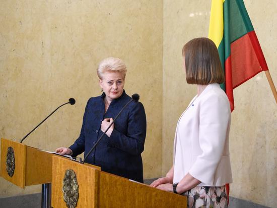 Президент Литвы сочла само существование России и Белоруссии главной угрозой