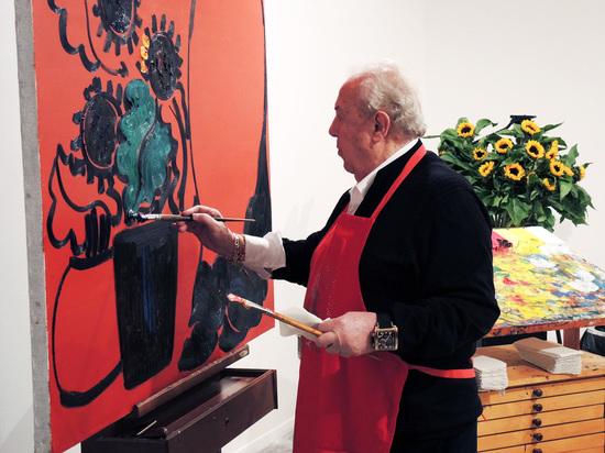 Зураб Церетели спасает людей арт-терапией