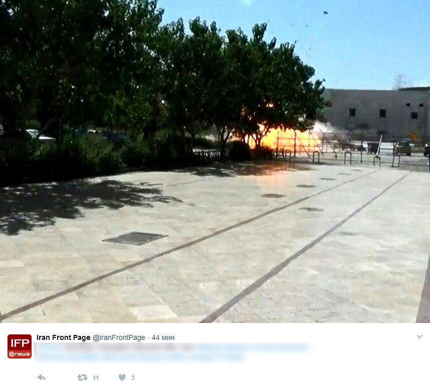 Хронология двойного теракта в Иране: ИГИЛ атаковало парламент и мавзолей