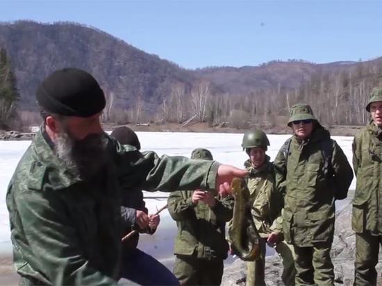 Военные НОАК провели неделю в глухой российской тайге