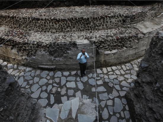 В Мексике обнаружен стадион ацтеков, где проигравших приносили в жертву