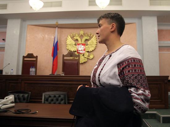 Она высмеяла перемену в высказываниях Савченко после возвращения из России