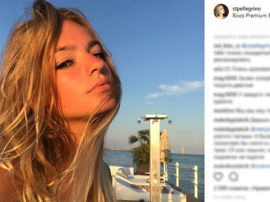 Лиза Пескова восхитилась красотой дочери Татьяны Навки