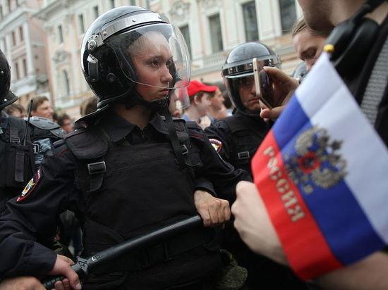 Оно стало первым в столице по итогам протестов 12 июня