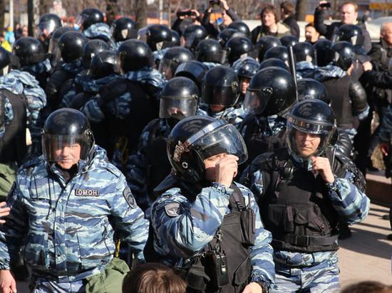Возбуждено дело о применение насилия в отношении представителя власти