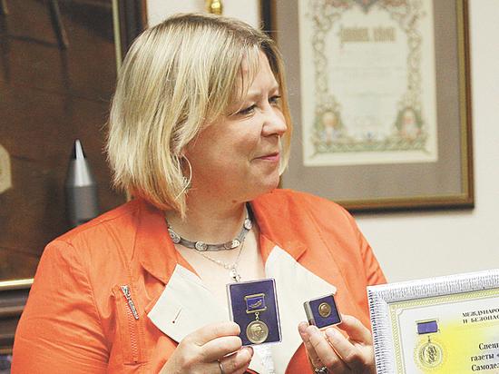 Специальный корреспондент «МК» Светлана Самоделова награждена медалью имени Легасова