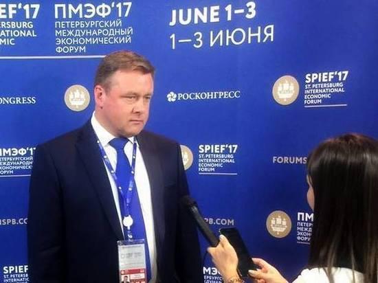 Глава рязанского региона проводил на ПМЭФ-2017 до семи встреч за день