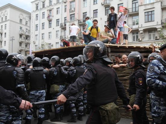 Росгвардия: экс-командир «Беркута» пресекал незаконную акцию на Тверской