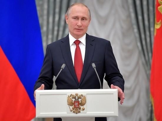 Путин назвал мечтами желание американцев видеть Россию поверженной